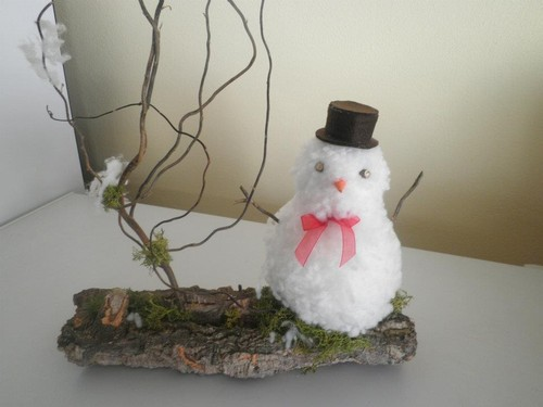 Boneco de neve...