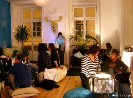 Lisbon Lounge - Melhor hostel Europa