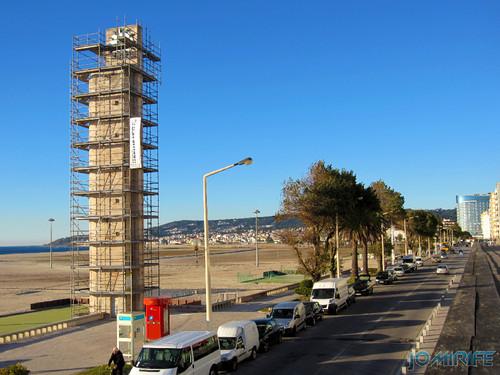 Figueira da Foz: Torre do relógio de praia vai ter obras - Vista para a avenida