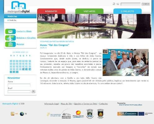 Museu Rei dos Congros no portal Metropolis Digital