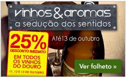 25% em Vinhos do Douro