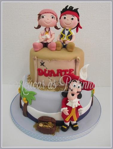 Cake Design Jake E Os Piratas : Bolo Jake e os Piratas - Ac?car as Bolinhas - Cake Design ...