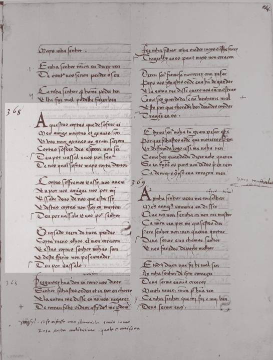 Poemas Eróticos dos Cancioneiros Medievais Galego Portugueses