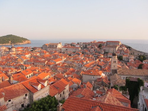 Dubrovnik Old Town vista da Dubrovnik Wall