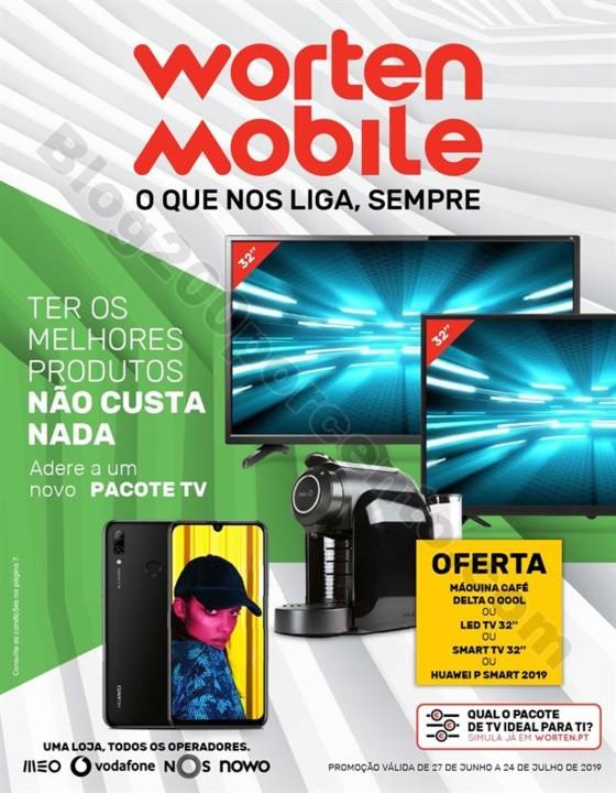 Antevisão Folheto WORTEN Mobile Promoções de 27