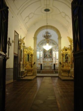 Interior (retirada dos bancos)