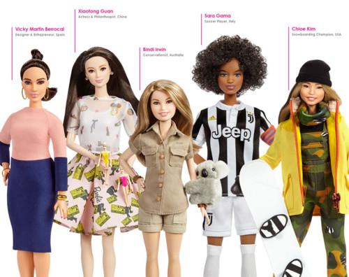 mattel-releases-inspiring-women-barbie-dolls-desig