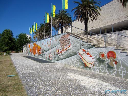 Arte Urbana by Mário Belém - Peixe laranja/Imaginário no CAE na Figueira da Foz Portugal - Muro (8) [en] Urban art by Mário Belém - Orange Fish/Imaginary in Art Center Figueira da Foz, Portugal