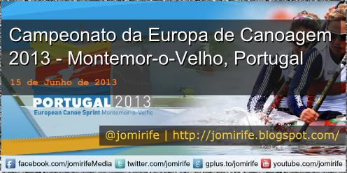 Campeonato da Europa de Canoagem 2013 Portugal