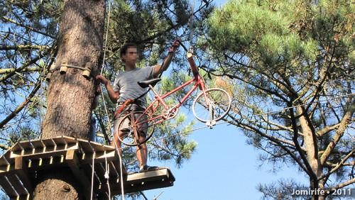 Parque Aventura: Tem que ir de bicicleta
