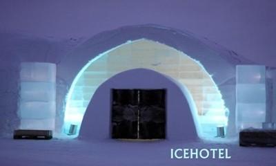 Hoteis de Gelo