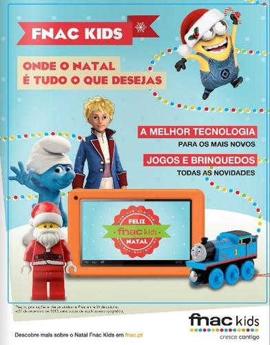 Novo folheto   FNAC KIDS   até 31 dezembro