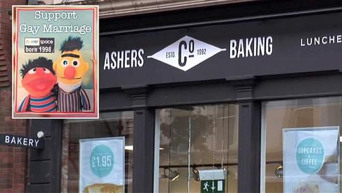Pastelaria recusa fazer bolo de casamento gay Ashe
