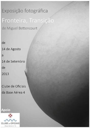 Exposição de fotografia do Miguel Bettencourt...