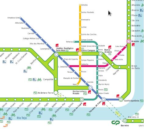 linha de sintra mapa CIDADANIA LX: O mapa e o horário das