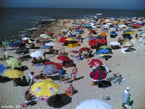 Praia de Buarcos (Figueira da Foz) está cheia!