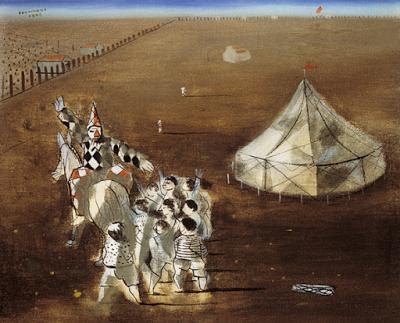 0 circo Candido Portinari Circo, 1942. Óleo sobre