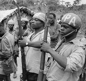 Selvagens da U.P.A., Congo, 1961