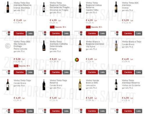 Vinhos com desconto | CONTINENTE | , 50% em cartão, os outros estão com super-preço 50% imediato