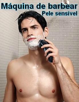 Máquina de barbear à prova de água
