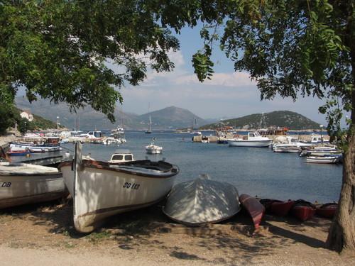 Vista da ilha de Sipan