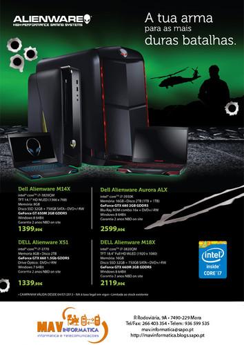 Dell Alienware - MAV Informática
