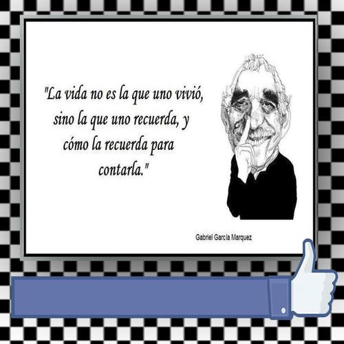 Garcia Marquez La vida