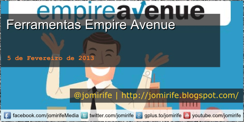 Blog Post: Ferramentas para o Empire Avenue