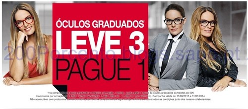 MultiOpticas leve 3 pague 1