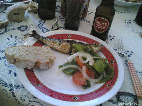 Sardinhada - Sardinha no prato