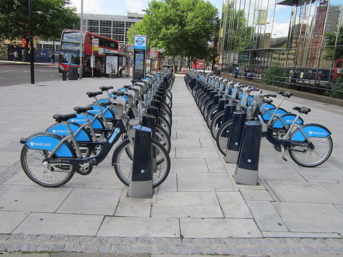 Estação da Barclays Cycle Hire