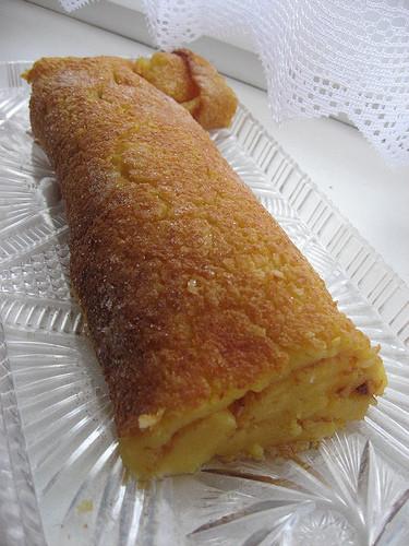 Torta de Laranja e Côco