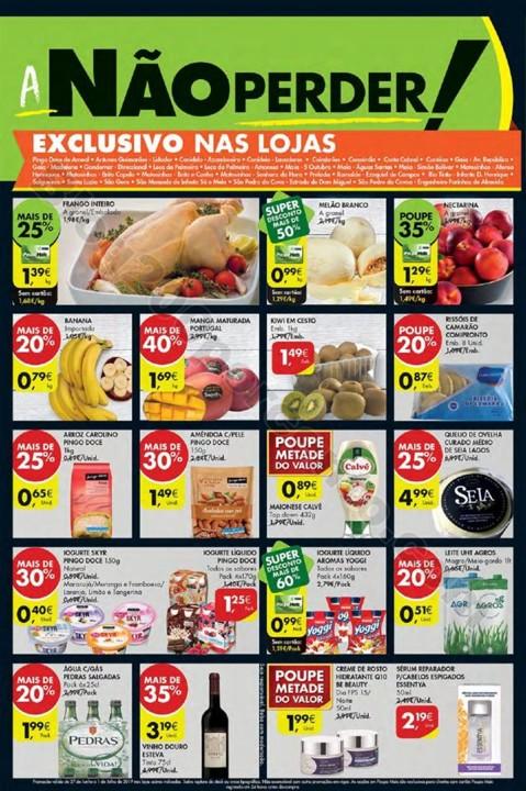 Antevisão Folheto PINGO DOCE Extra Fim de semana