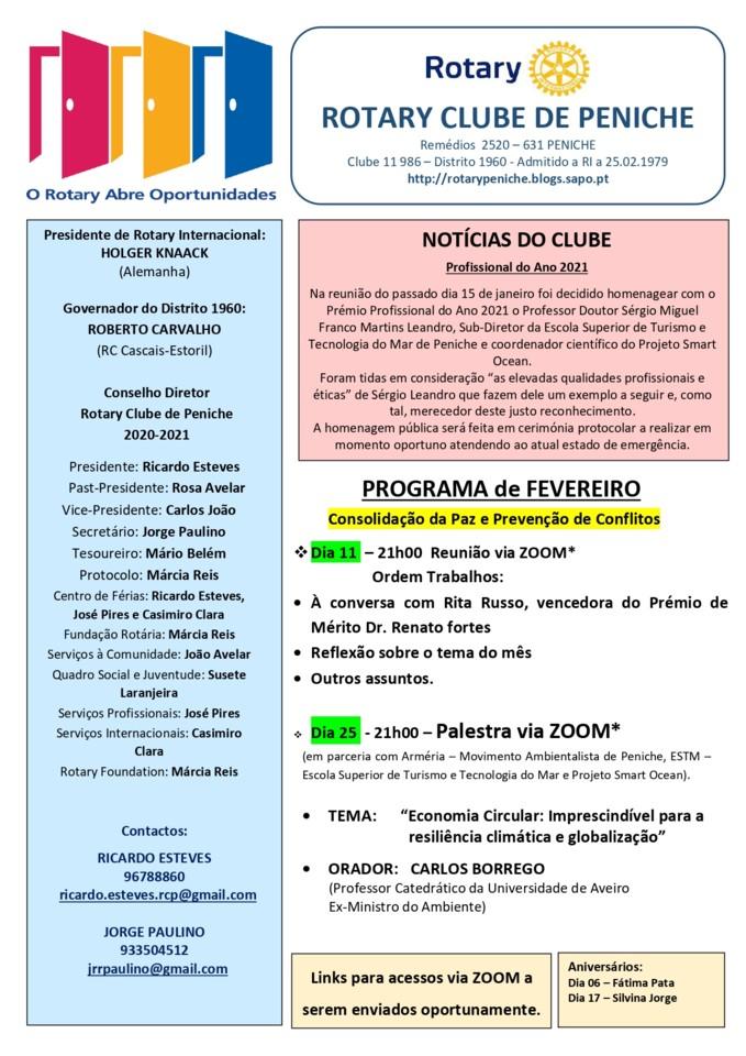 Programa de fevereiro do Rotary Clube de Peniche_p