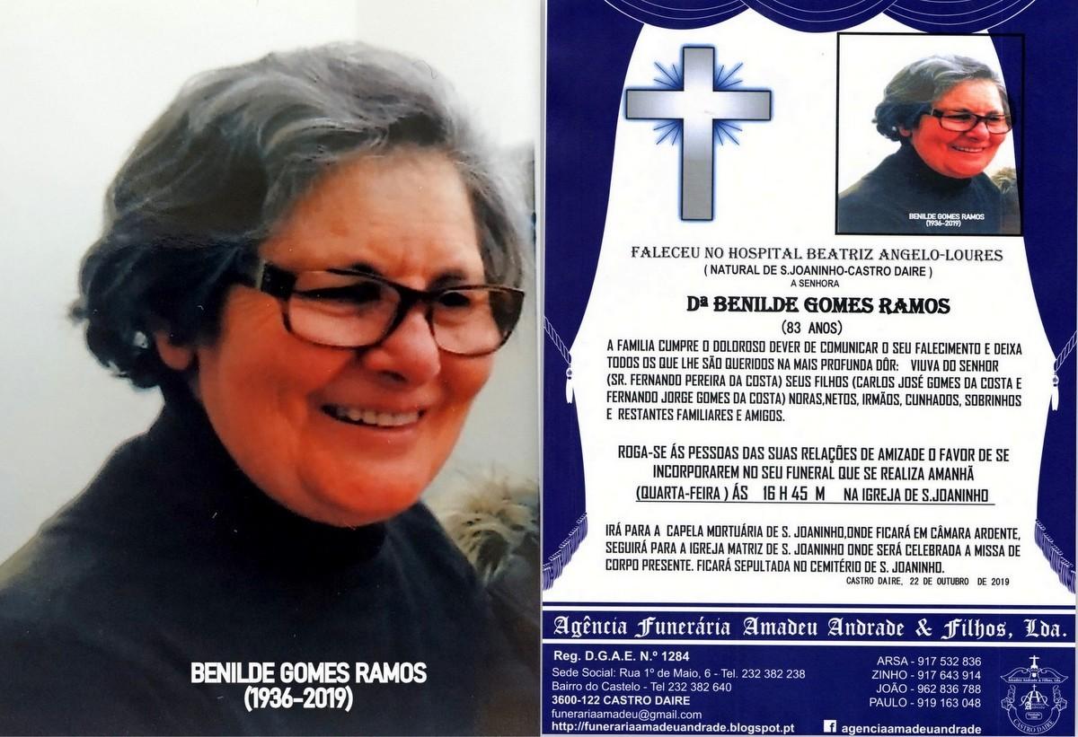 FOTO RIP DE BENILDE GOMES RAMOS-83 ANOS (S.jpg