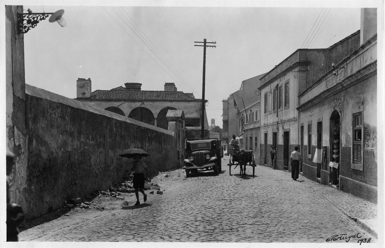 Praia da Matinha, Lisboa (E. Portugal, 1940)