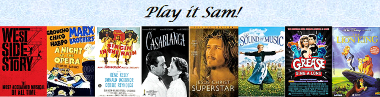 Play it Sam! | Em Abril, cinema mil!
