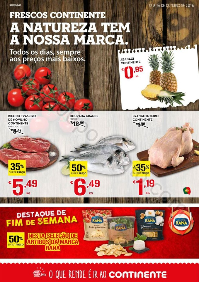 Antevisão Folheto CONTINENTE Fim de semana de 13