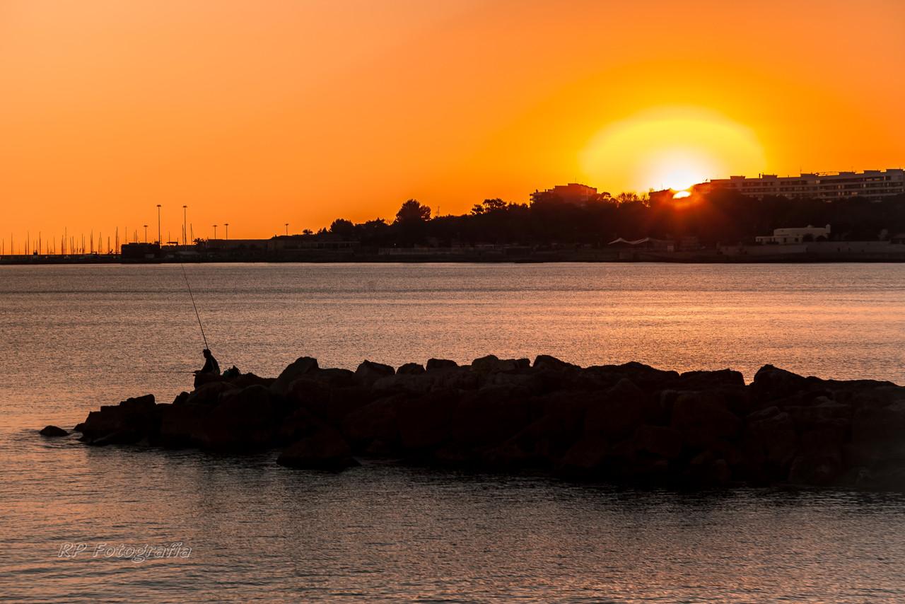 Por do Sol em Oeiras.JPG