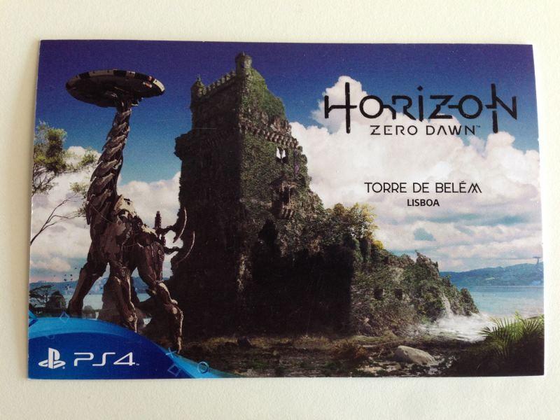 Postal Horizon Zero Dawn