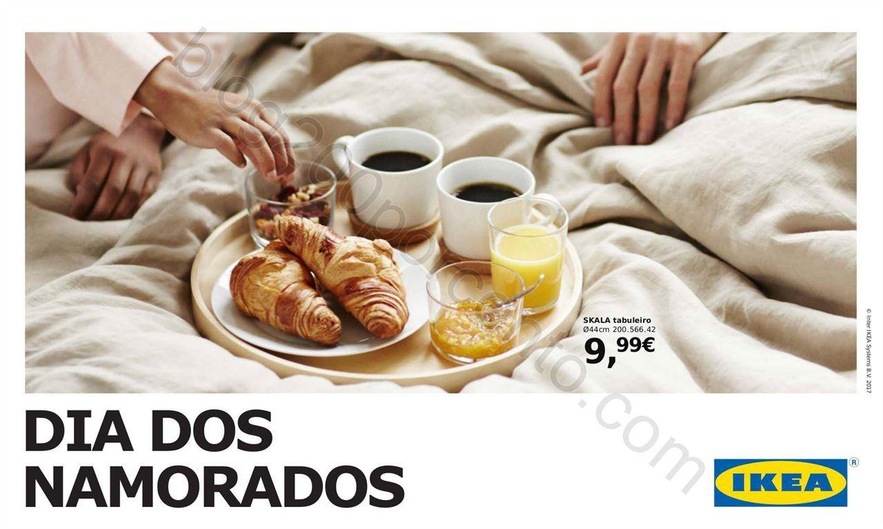 Folheto IKEA Dia dos namorados promoções de 6 a