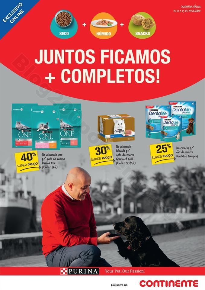 Antevisão Folheto CONTINENTE Especial Pets Promo