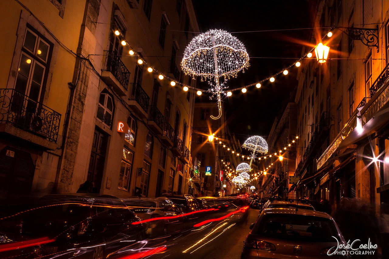 luzes natal lisboa iluminações ruas portugal 2016