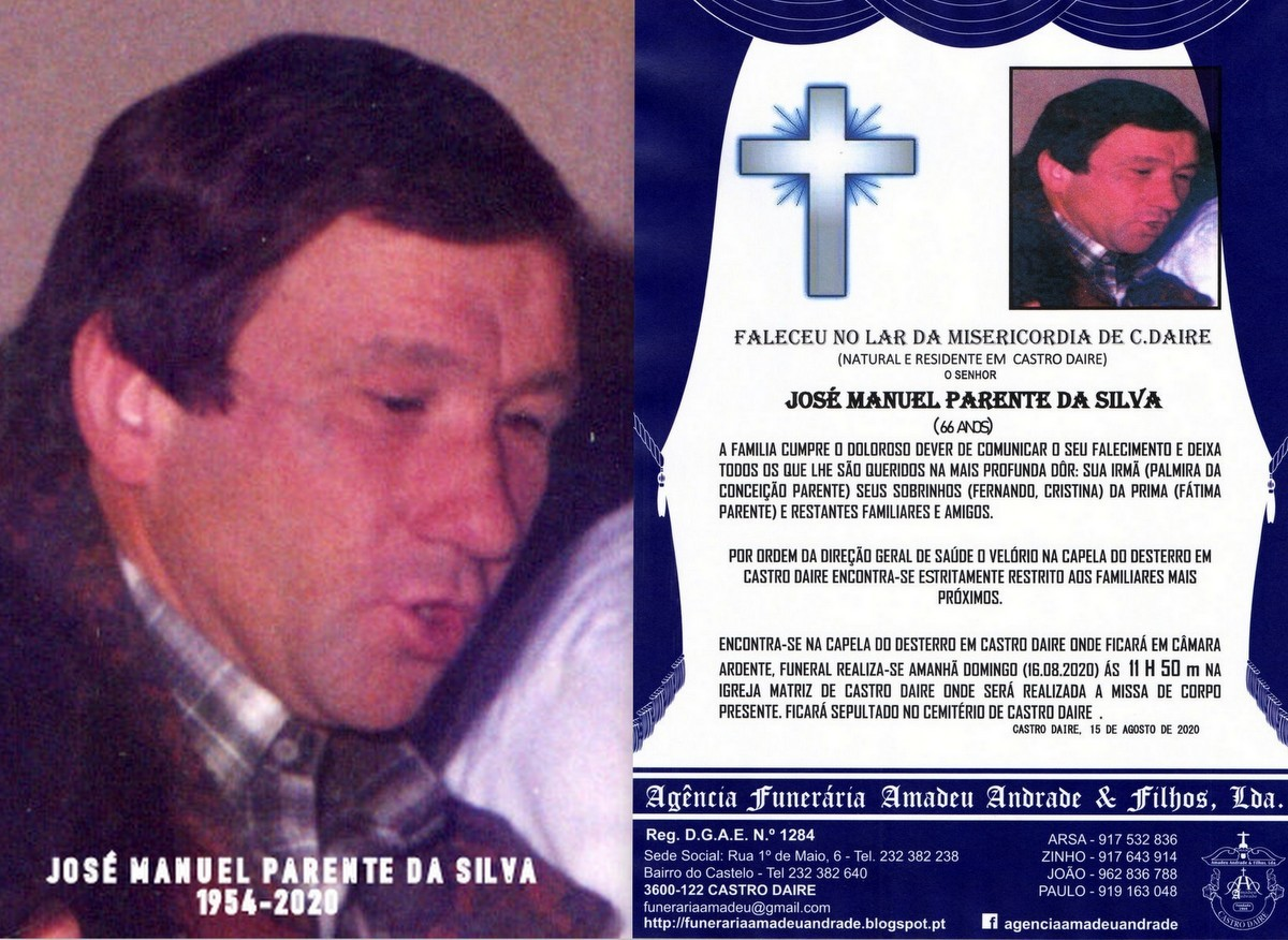 FOTO RIP NOVO  DE JOSÉ MANUEL PARENTE DA SILVA-66