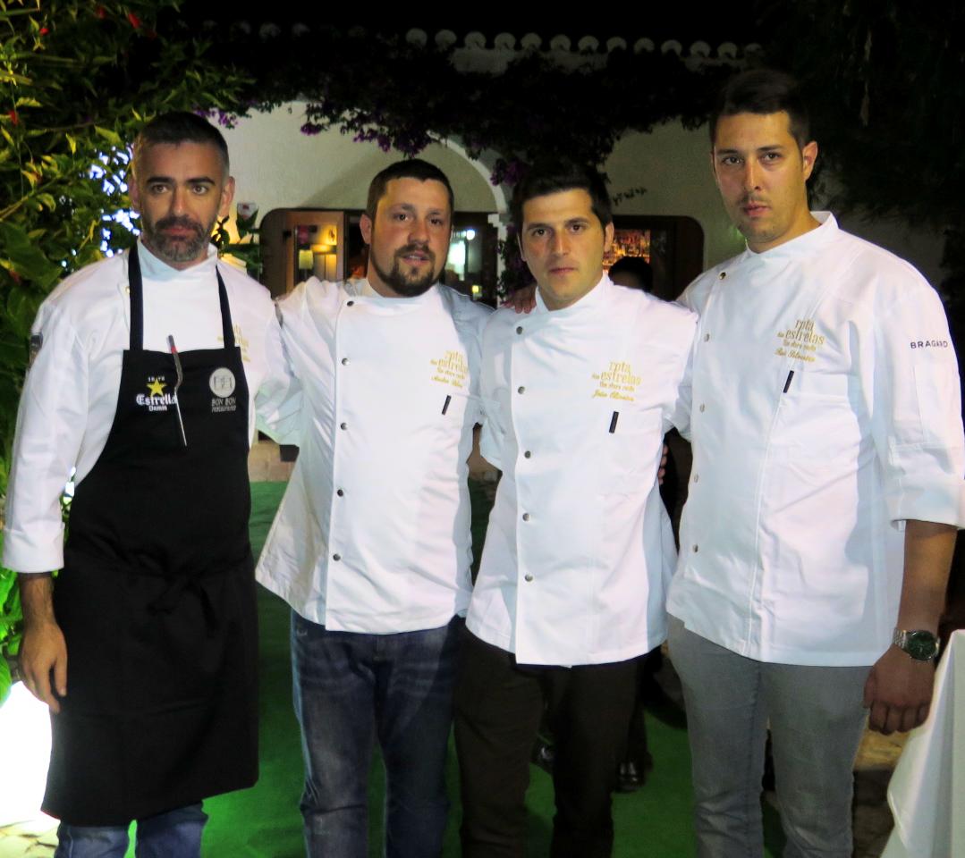 BON BON, Rota das Estrelas, dia 1: Alexandre Silva, André Silva, João Oliveira e o anfitrião Rui Silvestre