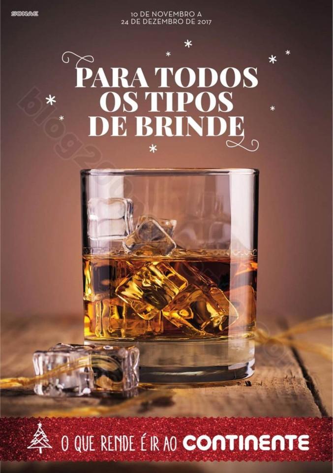 Antevisão Folheto CONTINENTE Bebidas Natal promo