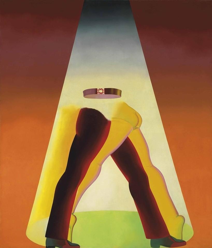 Allen Jones (British, b. 1937), Sin-Derella, 1969. Oil on canvas, 84 x 72 in.