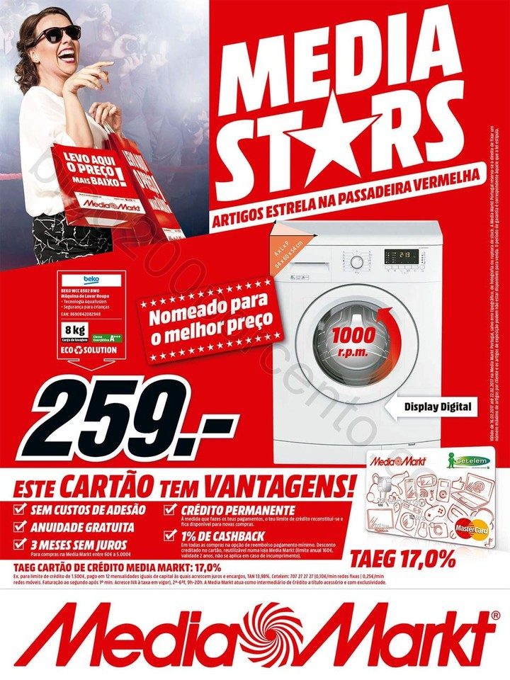 Antevisão Folheto MEDIA MARKT Promoções de 16 a