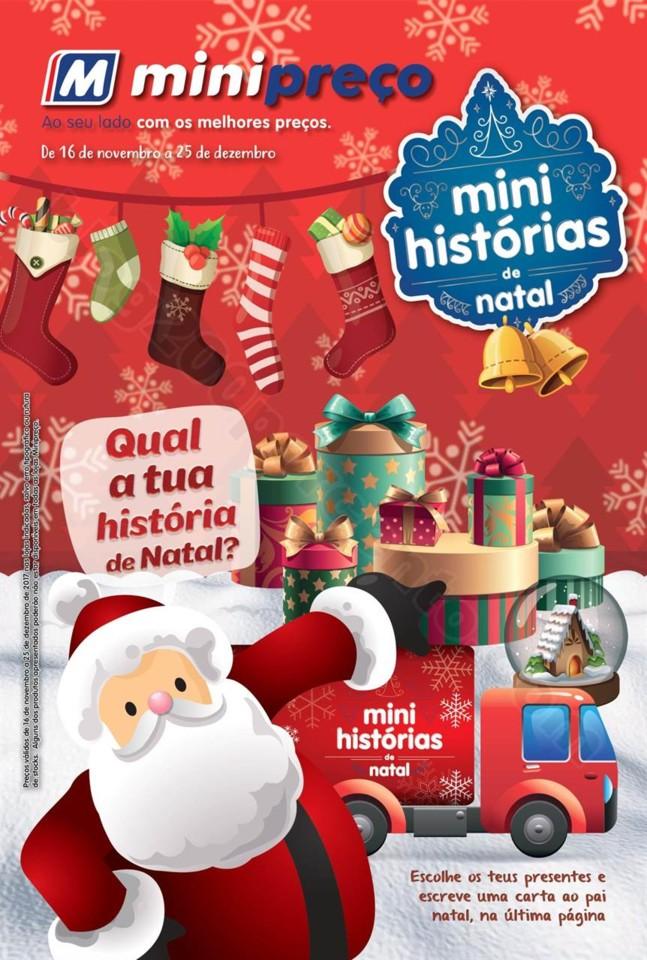 Antevisão Folheto MINIPREÇO Natal promoções de