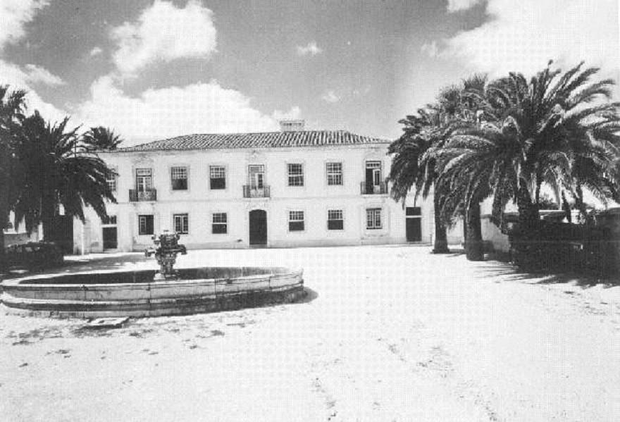 Palácio de Benagazil, 1965, foto de Armando Serô
